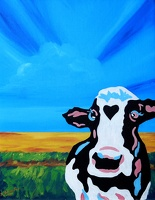 Cow Belle - SOLD