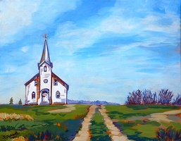 Little Church on the Prairies