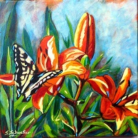 Butterfly Kisses - SOLD