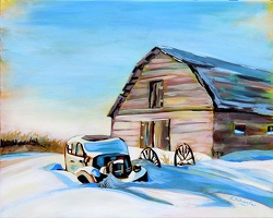 Snowed In - SOLD