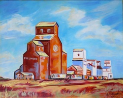 Cathedrals of the Prairies - SOLD